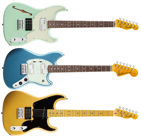 Fender Pawn Shop Series guitars