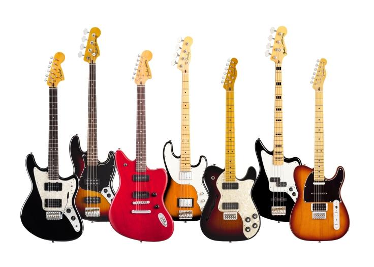 fender Modern Player guitars