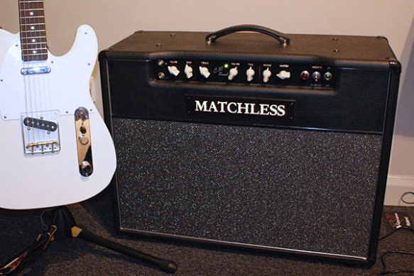 Matchless DC-30 amplifier and SVL Supernatural guitar