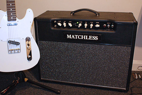 Matchless DC-30 amplifier and Fender Telecaster guitar