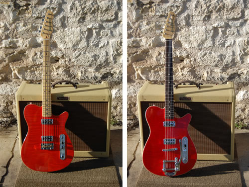 Textone Guitars Twang King Custom and Twang King Deluxe