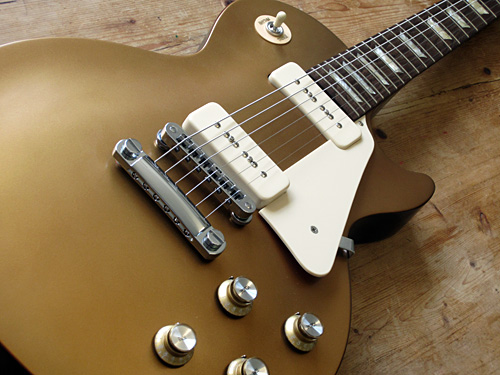 Gibson Les Paul Studio '60s Tribute Gold Top – review – Fat Sound