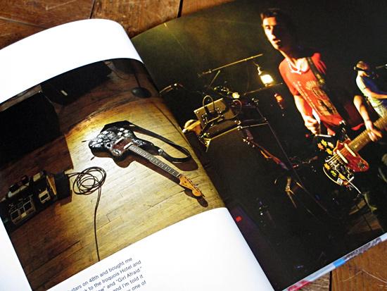 Johnny Marr and his 1963 Fender Jaguar
