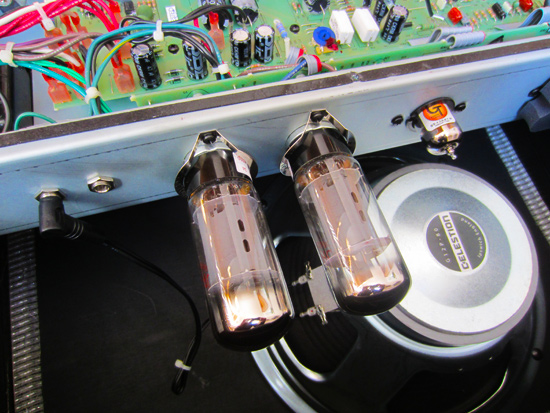 Ruby 6L6 valves in my Fender Hot Rod Deluxe