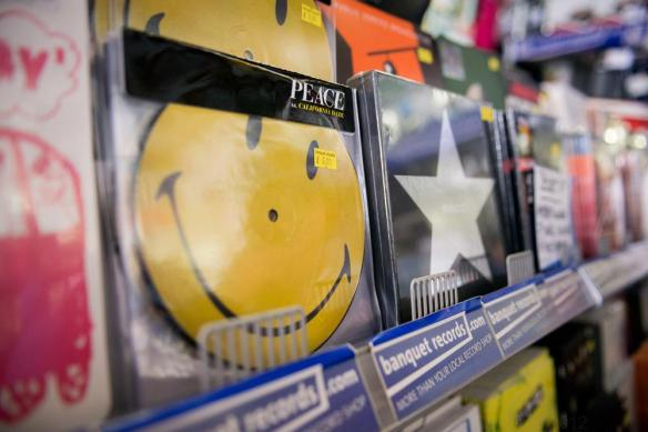 Vinyl at Banquet Records
