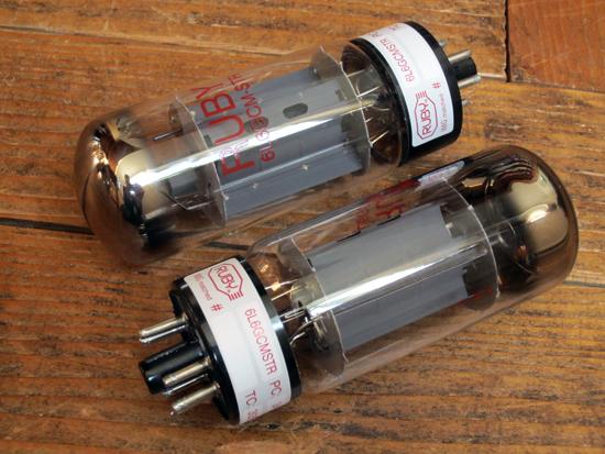 Ruby 6L6GCMSTR Power Tubes