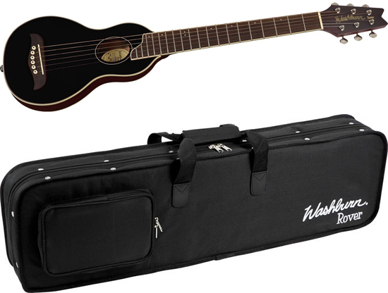 washburn rover travel guitar review fat sound. Black Bedroom Furniture Sets. Home Design Ideas