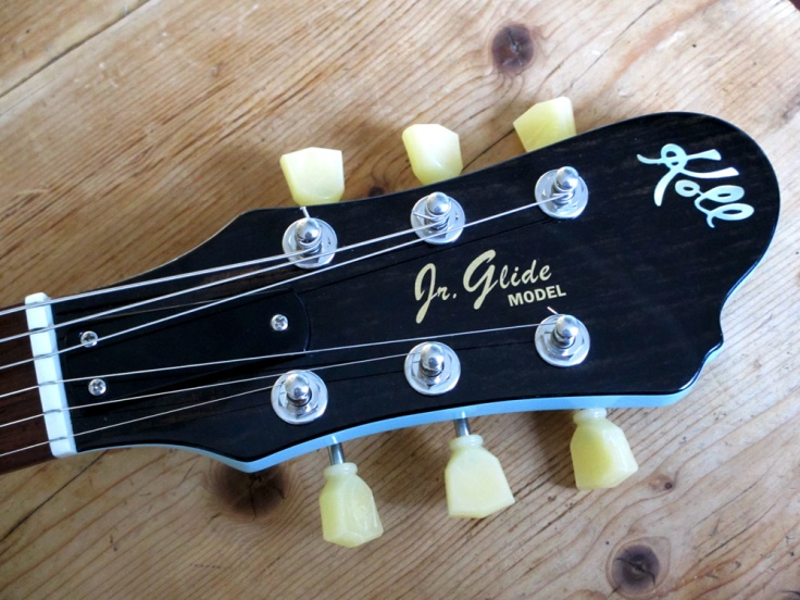 Koll Jr Glide headstock