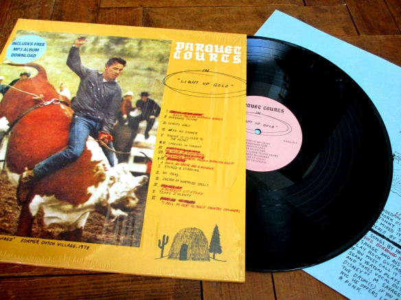 Light Up Gold by Parquet Courts vinyl album