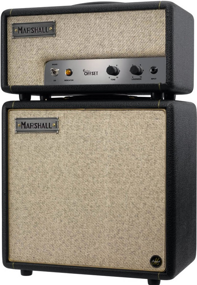 Marshal Custom JTM Offset half stack