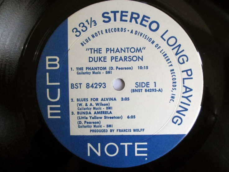 The Phantom label side 1