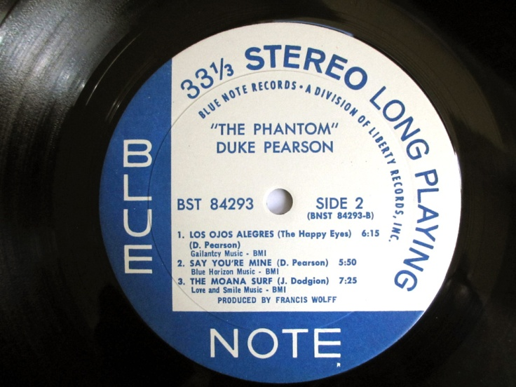 The Phantom label side 2