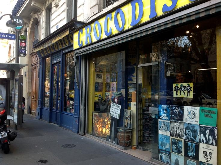 Crocodisc shop front