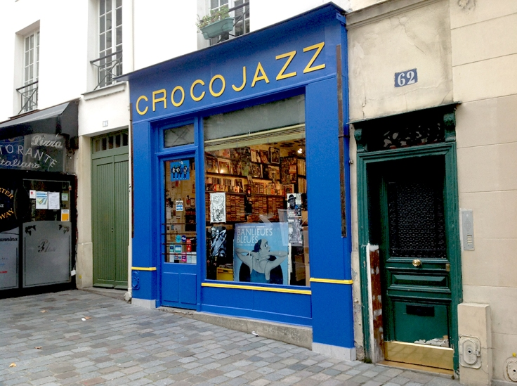 Crocojazz shop front