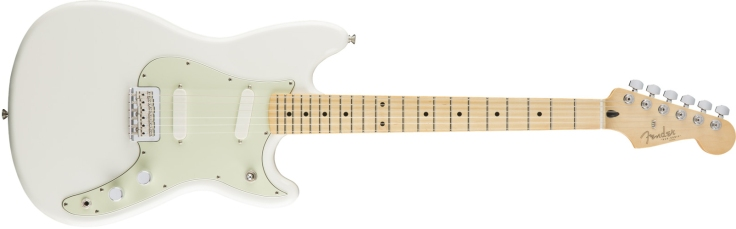 Fender Duo-Sonic in Aged White