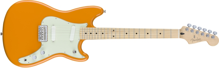 Fender Duo-Sonic in Capri Orange