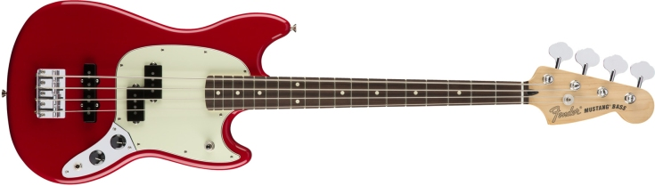 Fender Mustang Bass PJ in Torino Red