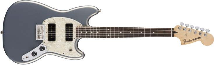 Fender Mustang 90 in Silver