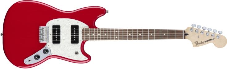 Fender Mustang 90 in Torino Red