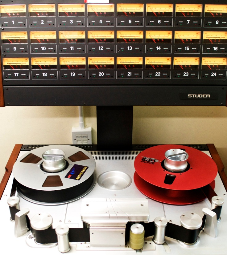 Studer A827 24 track 2 inch