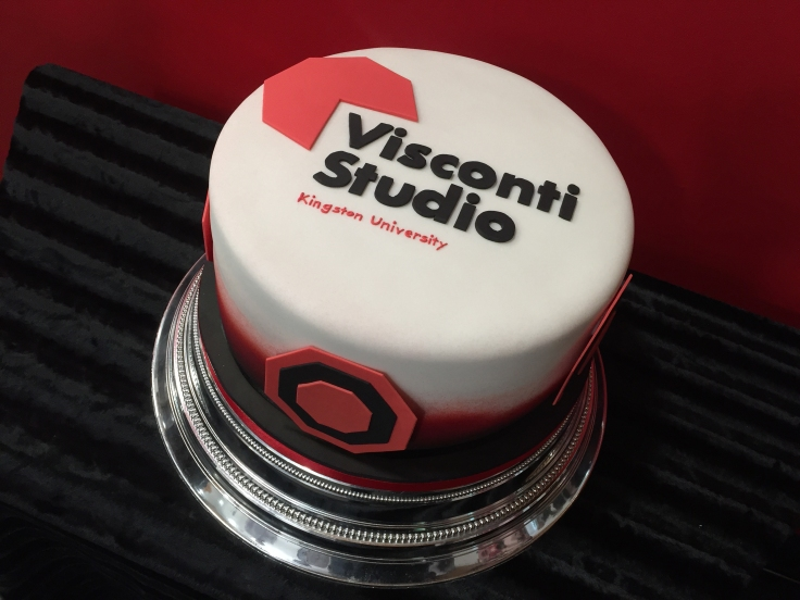 Visconti Studio launch cake